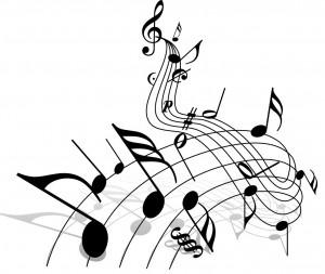 picture of music manuscript